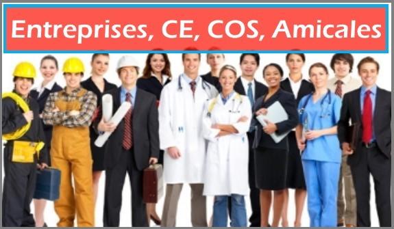 Entreprises, CE, COS