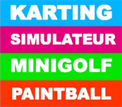 Karting simulateur minigolf paintball monteux